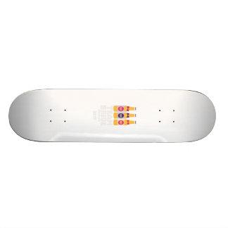 Jeune mariée Danemark d'équipe 2017 Zni44 Mini Skateboard 18,4 Cm