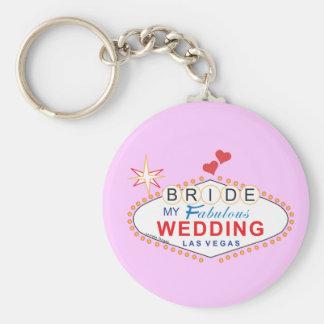Jeune mariée de Las Vegas Porte-clef