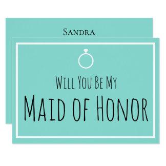 JEUNE MARIÉE et Co vous serez ma carte de mariage