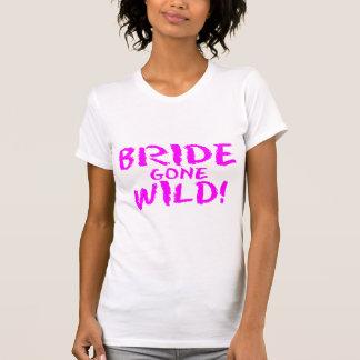 Jeune mariée folle ! t-shirt