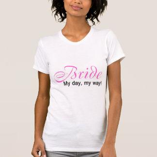 Jeune mariée (mon jour, ma manière !) t-shirt