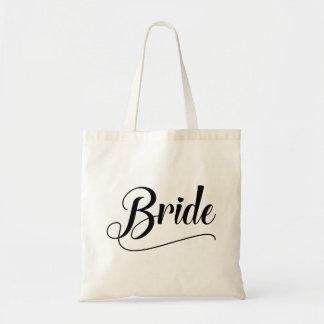 Jeune mariée sac en toile