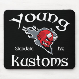 Jeune tapis de souris de Kustoms