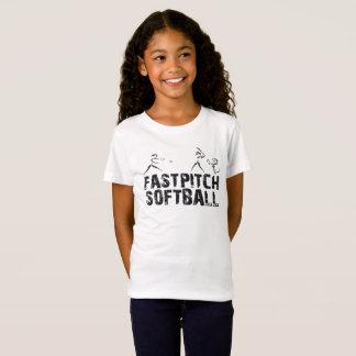 Jeûnent le T-shirt du base-ball de lancement