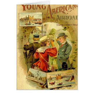 Jeunes Américains à l'étranger Carte De Vœux