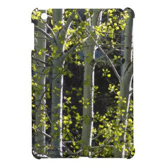 Jeunes arbres d'Aspen Coque iPad Mini