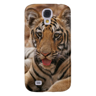 Jeunes un de tigre de Bengale royal Coque Galaxy S4