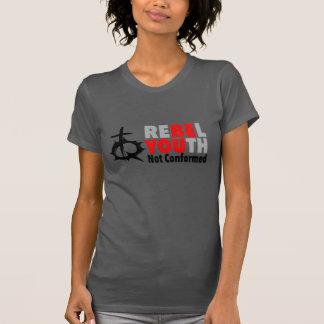 Jeunesse rebelle - soyez vous - dames t-shirt