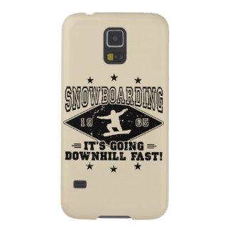 JEÛNEZ EN DESCENDANT ! (noir) Coque Galaxy S5