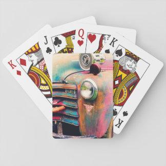 Jeux de carte de sapeur-pompier cartes à jouer