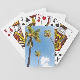 Jeux de cartes Palmiers