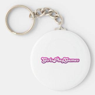 Jeux de jeu de filles - femmes de jeux vidéo de ge porte-clé