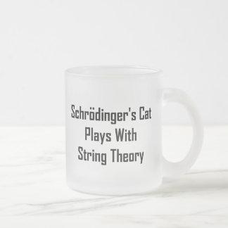 Jeux du chat de Schrodinger avec la théorie de fic Mugs À Café