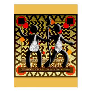 Jeux Olympiques africains fonctionnant passant la Cartes Postales