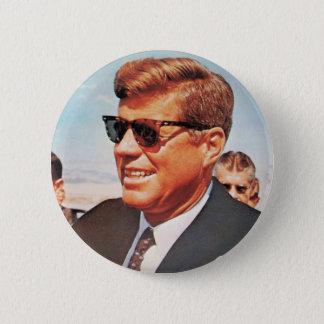 JFK dans la couleur vivante Pin's
