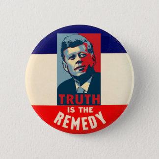 JFK : La vérité est le remède Badges