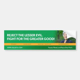 Jill Stein pour le bumpersticker de Autocollant Pour Voiture