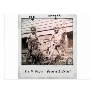 JIM et Wayne Carte Postale