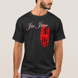 Jiu Jitsu - T-shirt de vortex de kanji