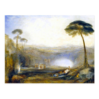 JMW Turner la carte postale d'or de branche