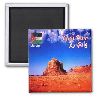 JO - La Jordanie - désert de rhum de Wadi Magnet Carré