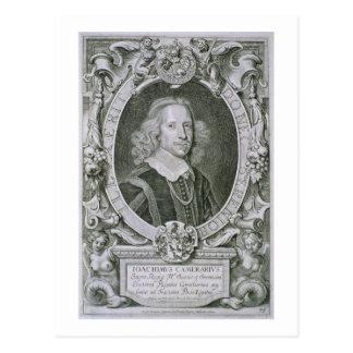 Joachim Camerarius, 'de défectuosité de DES Hommes Carte Postale