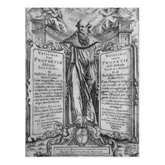 Joachim de Flora Carte Postale