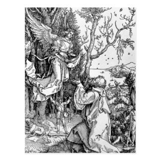 Joachim et l'ange carte postale