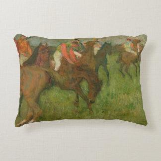 Jockeys d'Edgar Degas |, 1886-90 Coussins Décoratifs