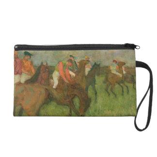 Jockeys d'Edgar Degas |, 1886-90 Pochette Avec Dragonne