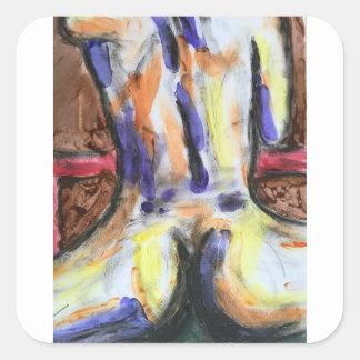 Jody Deux Sticker Carré