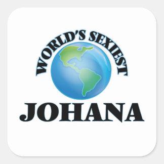 Johana le plus sexy du monde sticker carré