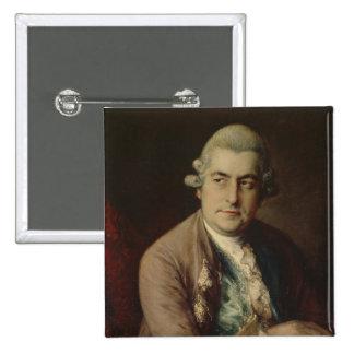 Johann Christian Bach, 1776 Badge