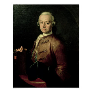 Johann Georg Leopold Mozart Poster