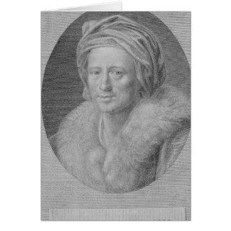 Johann Joachim Winckelmann Carte De Vœux