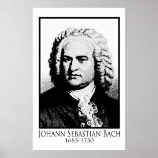 Johann Sebastian Bach Affiche