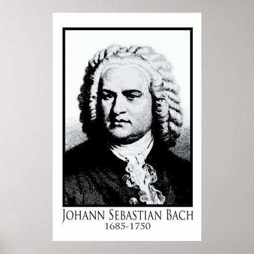 Johann Sebastian Bach Posters