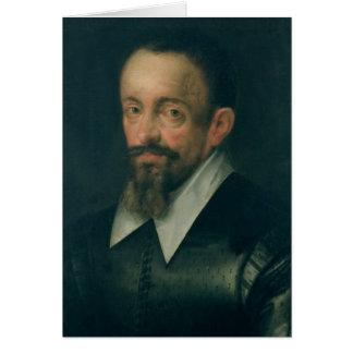 Johannes Kepler, astronome, c.1612 Carte De Vœux