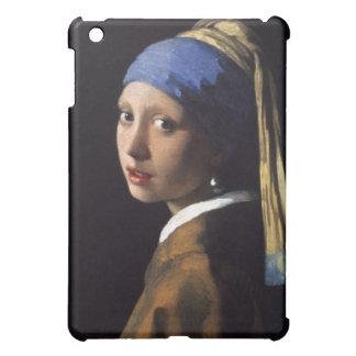 Johannes Vermeer, fille avec une perle Earing Étuis iPad Mini