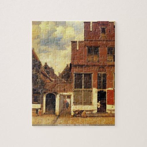 Johannes Vermeer - le petit puzzle de rue