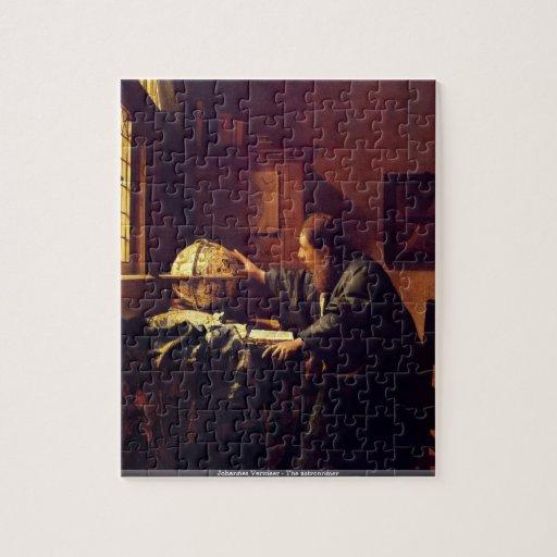 Johannes Vermeer - le puzzle d'astronome