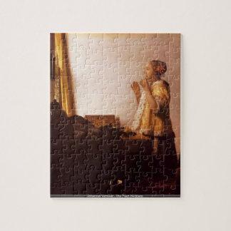 Johannes Vermeer - le puzzle de collier de perle