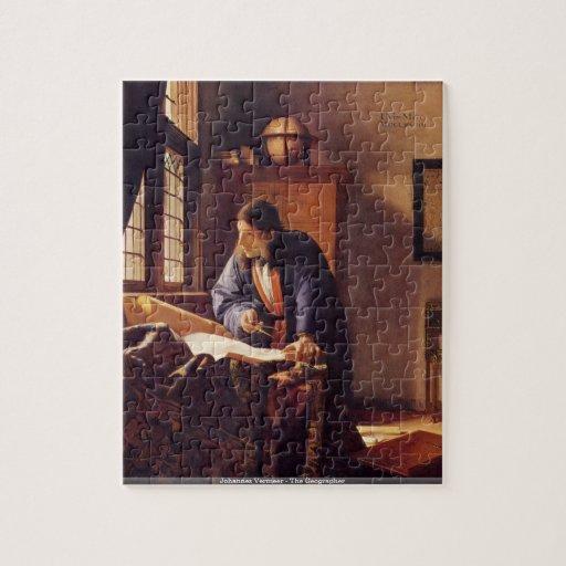Johannes Vermeer - le puzzle de géographe