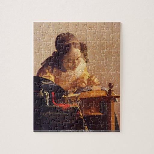 Johannes Vermeer - le puzzle de Lacemaker