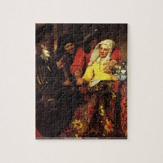 Johannes Vermeer - le puzzle de proxénète