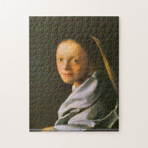 Johannes Vermeer - puzzle de domestique