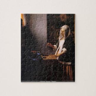 Johannes Vermeer - puzzle de poids