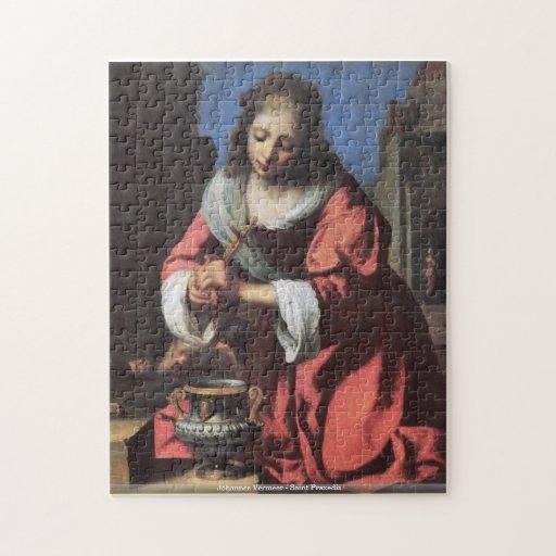 Johannes Vermeer - puzzle de Praxedis de saint