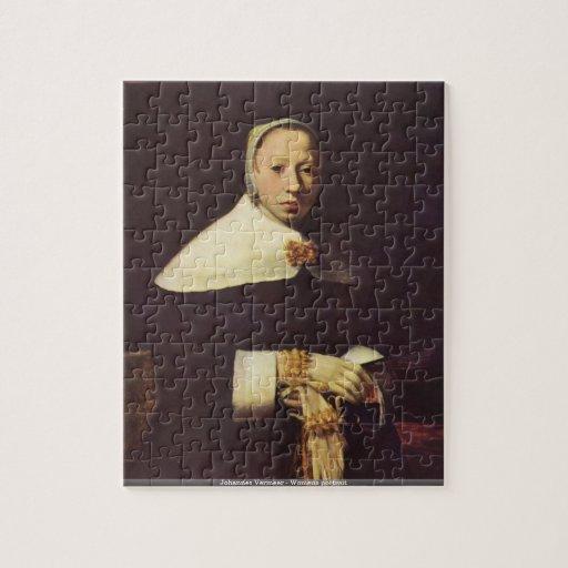 Johannes Vermeer - puzzle du portrait des femmes