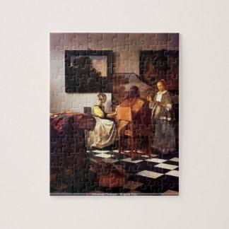 Johannes Vermeer - puzzle musical de trio